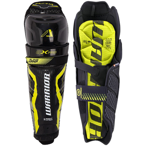 Warrior Alpha QX Pro Shin Guards - SENIOR