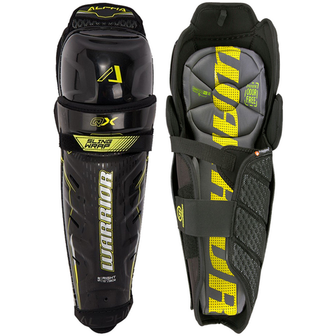 Warrior Alpha QX Shin Guards - JUNIOR