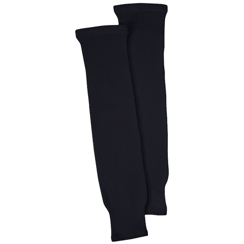 CCM S100P Black Knit Hockey Socks