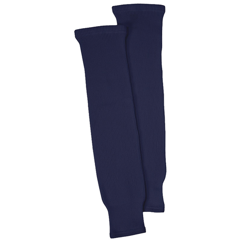 CCM S100P Knit Hockey Socks - Navy