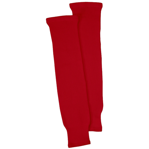 CCM S100P Knit Hockey Socks - Red