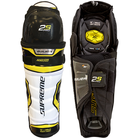 Bauer Supreme 2S Pro Shin Guards - JUNIOR