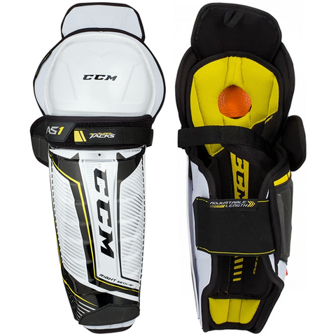 CCM Super Tacks AS1 Shin Guards - SENIOR