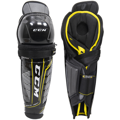 CCM Tacks Vector Pro Shin Guards - SENIOR