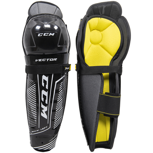 CCM Tacks Vector Shin Guards - SENIOR