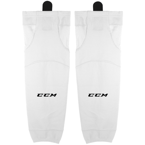 CCM SX6000 Premium Hockey Socks - White