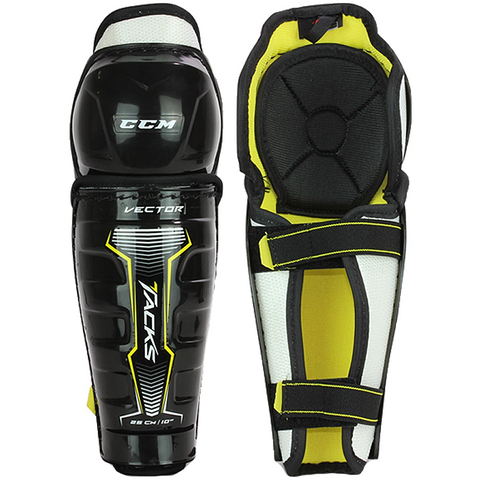 CCM Tacks Vector Shin Guards - YOUTH