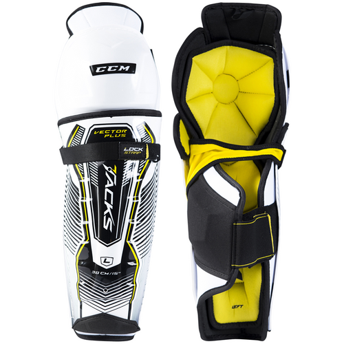 CCM Tacks Vector Plus Shin Guards - JUNIOR