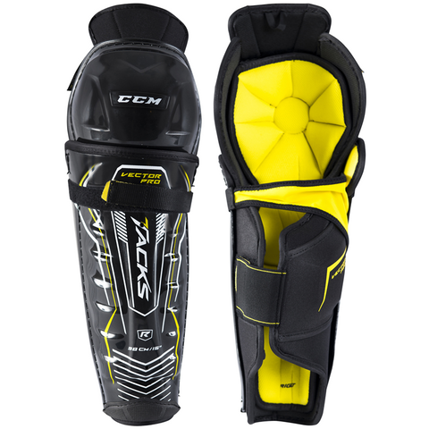 CCM Tacks Vector Pro Shin Guards - JUNIOR