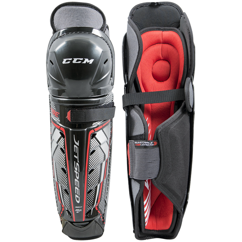 CCM JetSpeed Vibe Shin Guards - JUNIOR