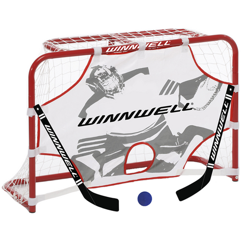 Winnwell Metal Mini Hockey Net Set