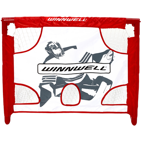 Winnwell PVC Mini Hockey Net & Target