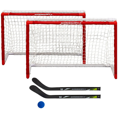 Winnwell Double PVC Mini Hockey Net Set