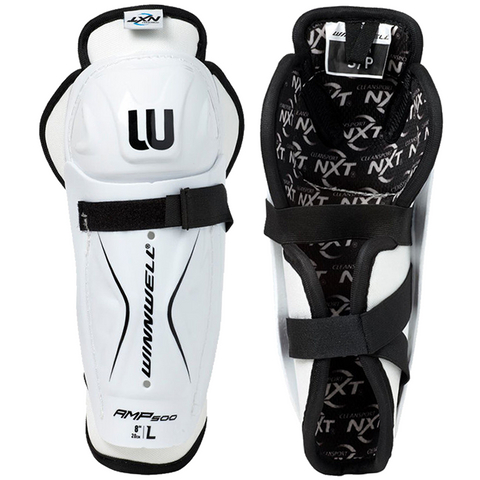 Winnwell AMP500 Shin Guards - YOUTH