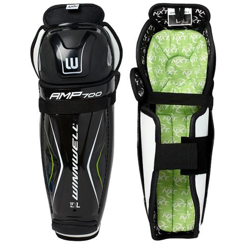 Winnwell AMP700 Shin Guards - JUNIOR