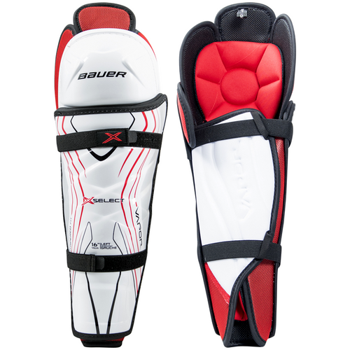 Bauer Vapor X Select Shin Guards - JUNIOR