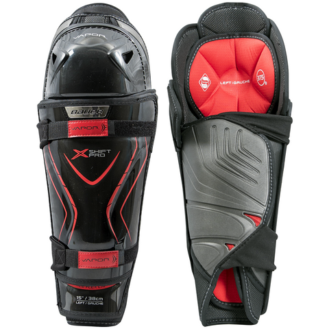 Bauer Vapor X Shift Pro Lite Shin Guards - JUNIOR