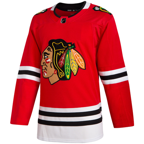adidas Adizero Authentic Blackhawks Home Jersey - ADULT