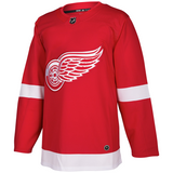 adidas Adizero Authentic Red Wings Home Jersey - ADULT