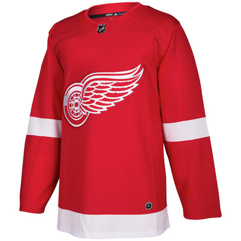 adidas Adizero Authentic Red Wings Home Jersey