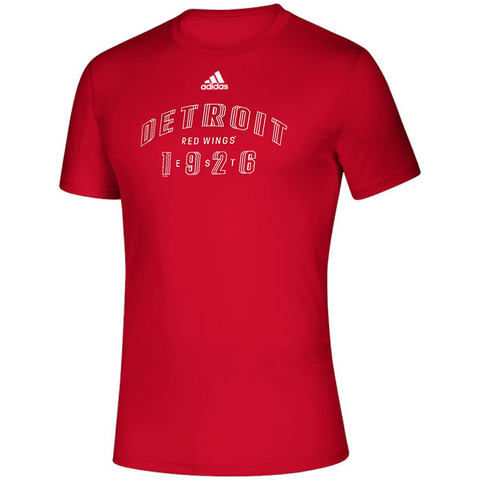 adidas Creator Detroit Red Wings Tee