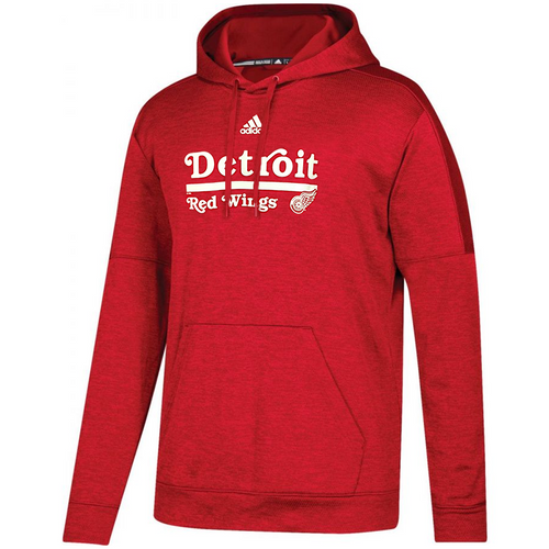 adidas Team Issue Red Wings Pullover Hoodie - ADULT