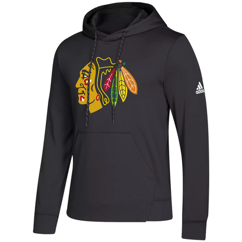 adidas Synthetic Blackhawks Hoodie - ADULT