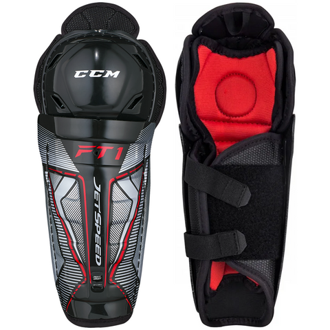 CCM JetSpeed FT1 Shin Guards - YOUTH