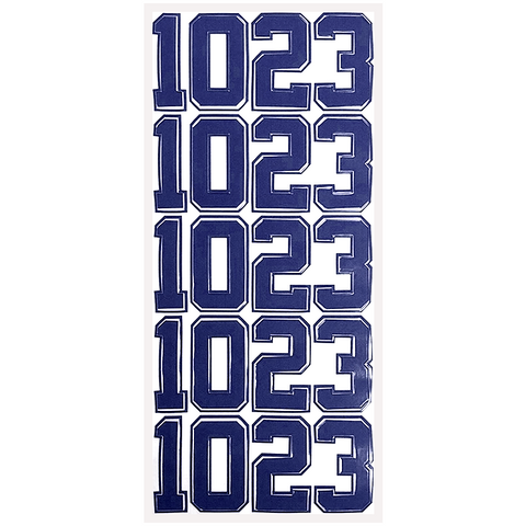 Navy Helmet Number Pack