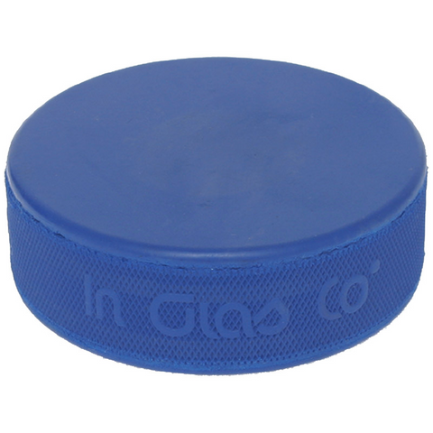 Blue Hockey Puck - 4 oz.