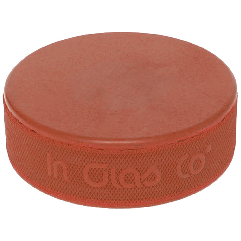 Orange Weighted Hockey Puck - 10 oz.