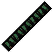 Load image into Gallery viewer, art of bark silk skinny scarf design-img