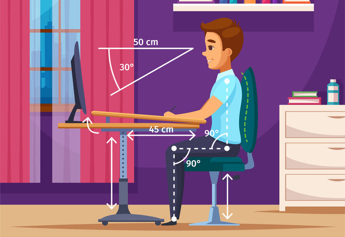 Correct Sitting Poses for Good Posture
