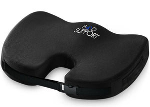 Coccyx and Back Support Seat Cushion