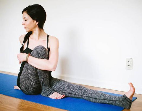Seated Leg Binding Twist