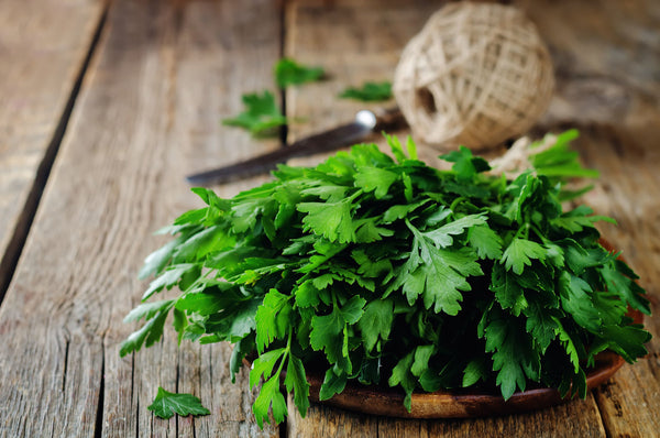parsley for back pain relief