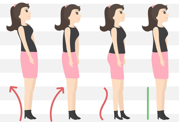 correct posture poses