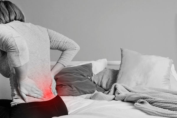 waking up with upper back pain