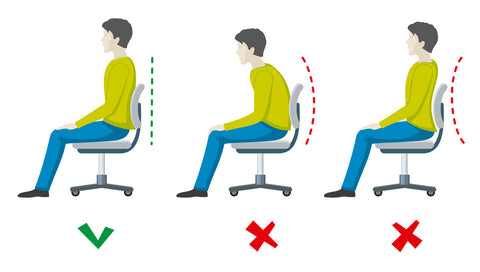 best sitting positions