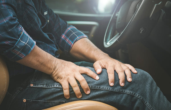 right leg pain when driving