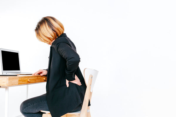 lower back pain when standing
