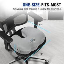 ergonomic seat cushion