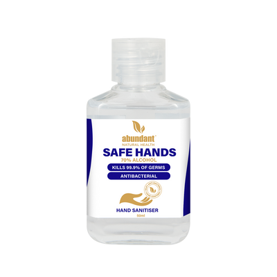 Safe Hands Sanitiser 70% Alcohol