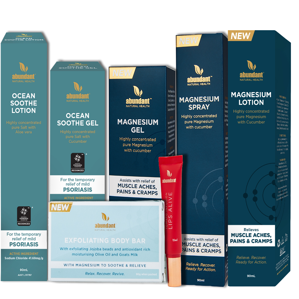 Natural Pain Relief Range