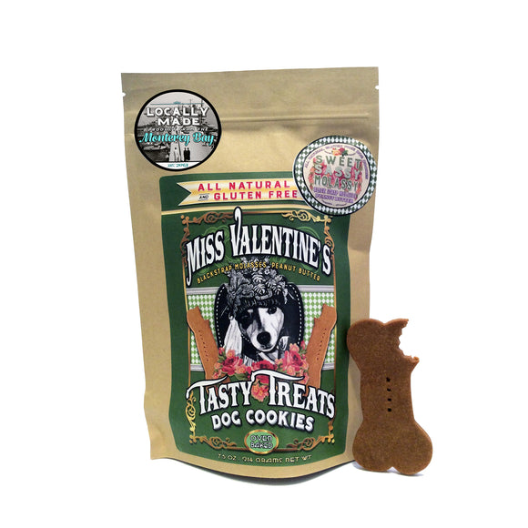 Miss Valentine's Tasty Treats : Sweet Sassy Molassy  (Blackstrap Molasses & Peanut Butter) - LEAGUE OF CRAFTY CANINES