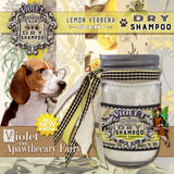 Violet the Apawthecary Fairy : (Lemon Verbena-Scented) Dry Shampoo For Dogs ! - LEAGUE OF CRAFTY CANINES