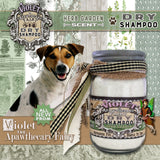 Violet the Apawthecary Fairy : (Herb Garden-Scented) Dry Shampoo For Dogs ! - LEAGUE OF CRAFTY CANINES