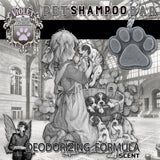 Pet Shampoo Bar : Deodorizing Formula  scent (High Quality, All Natural Ingredients) Dog Soap - LEAGUE OF CRAFTY CANINES