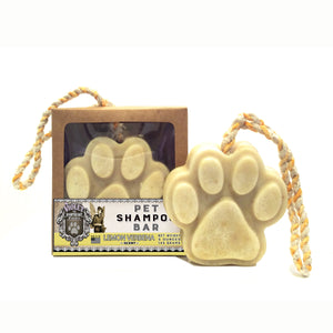 Pet Shampoo Bar : Lemon Verbena scent (High Quality, All Natural Ingredients) Dog Soap - LEAGUE OF CRAFTY CANINES