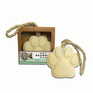 Pet Shampoo Bar : Unscented Aloe scent (High Quality, All Natural Ingredients) Dog Soap - LEAGUE OF CRAFTY CANINES